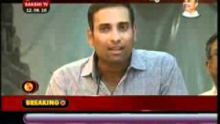 V V S Laxman, Venkatesh & Gopichand release Sai Bodha Audio