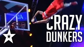 Crazy Dunkers Wow The Audience With Their Amazing Dunking | Got Talent Global