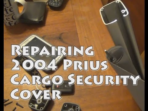 2004 Prius Repair Cargo Security Cover