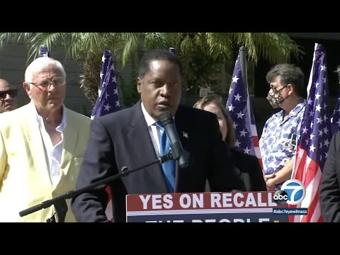 Larry Elder makes campaign stops for recall election in Southern California | ABC7