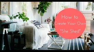 """Gambar cover 3 Amazing """"She Sheds"""" That Will Inspire You to Build Your Own"""