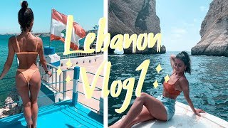 IM IN LEBANON! 🇱🇧 What is it like? Travel Vlog 1