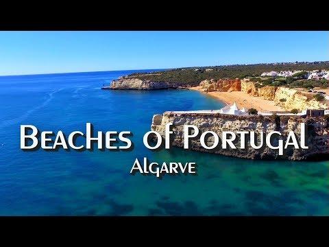 Beaches of Portugal | Drone Flight |  Algarve | DJI Phantom