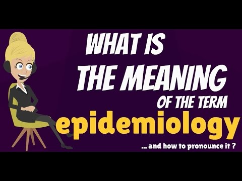 what is epidemiology? what does epidemiology mean? how to, Human Body
