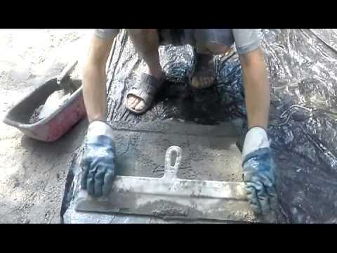 видео: Дорожка (тротуарная плитка) своими руками