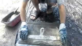 Дорожка (тротуарная плитка) своими руками(Садовая дорожка, своими руками, одиночку за 1 неделю!, 2013-09-11T11:35:34.000Z)