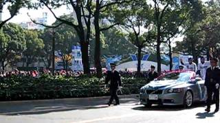 中日ドラゴンズ応援感謝パレード2010 【名古屋南大津町郵便局 前】