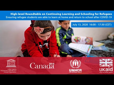 Continuing learning and schooling for refugees