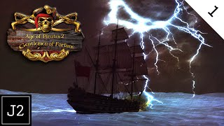 Age of Pirates 2 Gentlemen Of Fortune Mod Gameplay - Welcome To AoP2 - Part 1