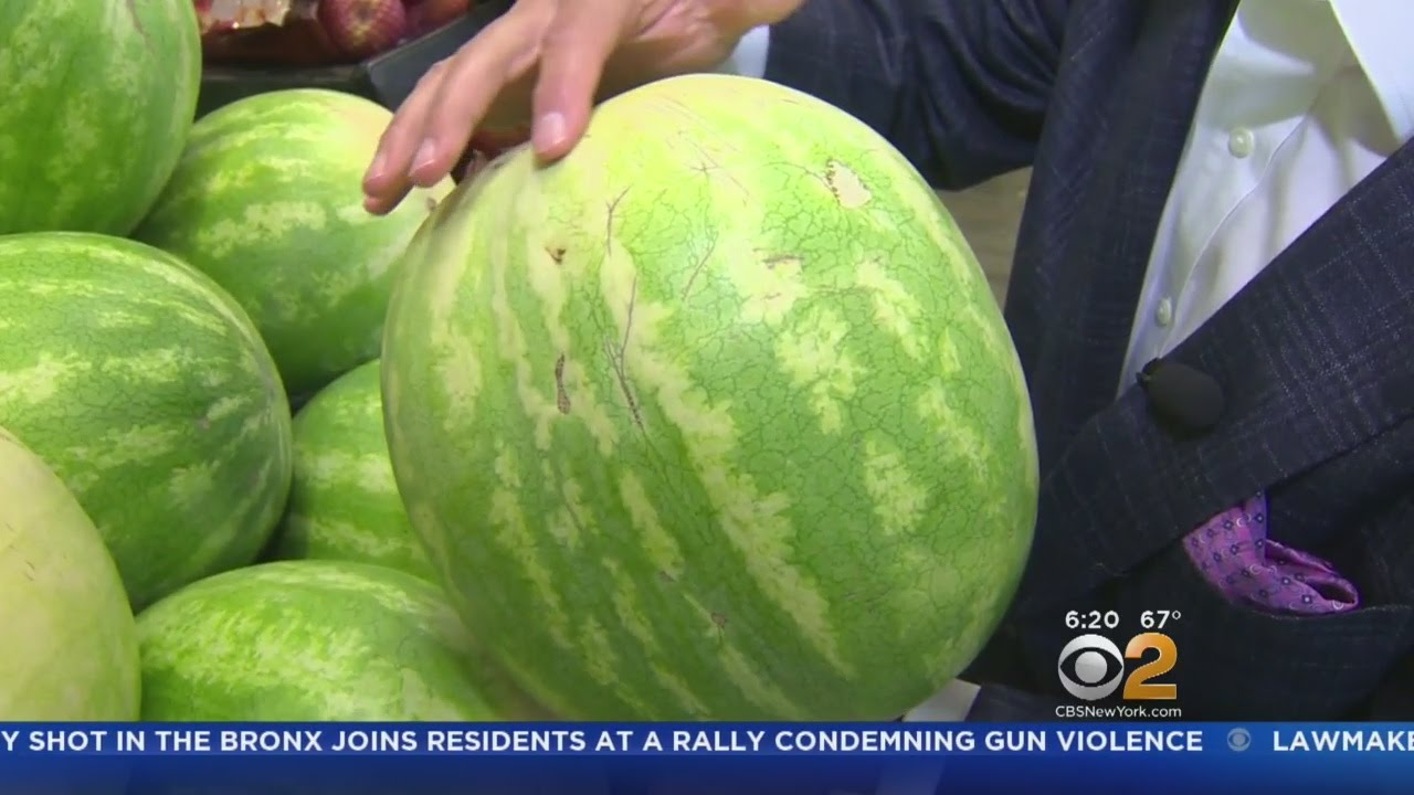Tips for picking a tasty watermelon