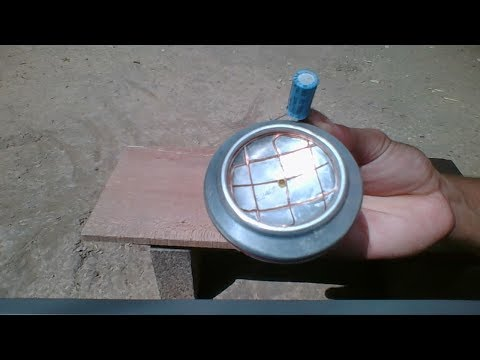 Free Energy , Homemade A Cheap Solar Cell Using Beer Can