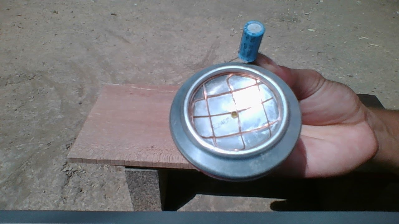 Free Energy Homemade A Cheap Solar Cell Using Beer Can
