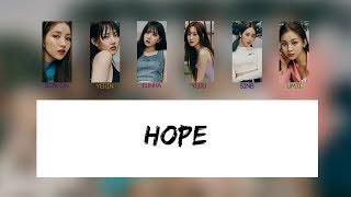 Gfriend (여자친구) - hope (기대) [color coded lyrics rom/eng ...