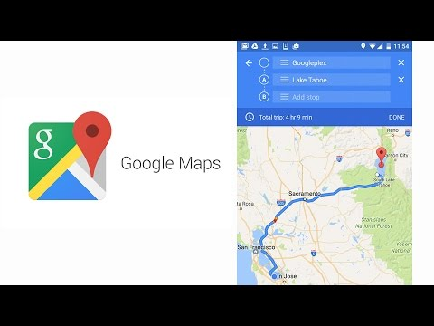 Google Maps for Android - Now Navigate to Multiple Destinations with multi-stops on a trip feature
