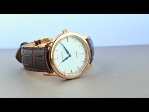 Corniche Heritage 40 Rose Gold 1h Time Lapse