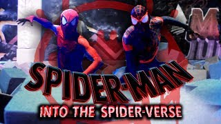 SPIDERMAN Into the SPIDERVERSE - PARKOUR en Madrid Jumps