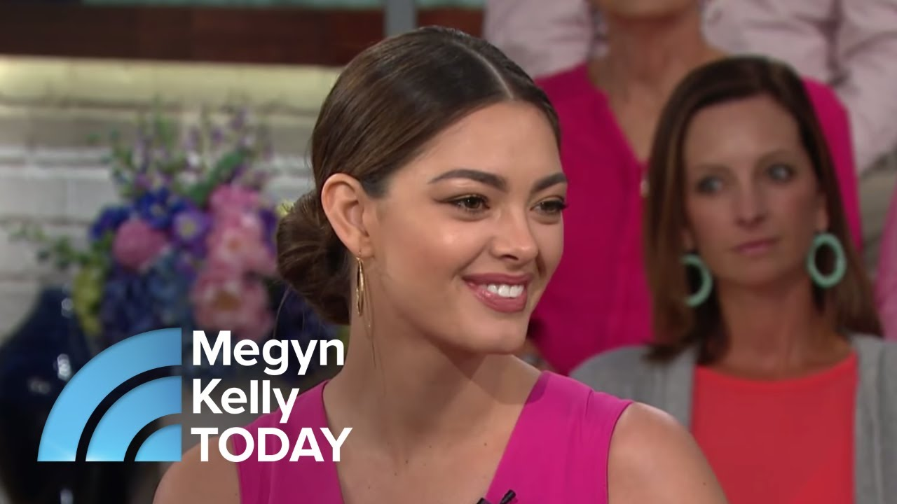 Miss Universe Tells The Story Of Fighting Off Attackers: 'I Will Be Unbreakable'   Megyn Kelly TODAY