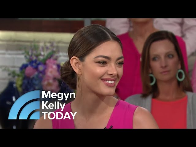 Miss Universe Tells The Story Of Fighting Off Attackers\: 'I Will Be Unbreakable'   Megyn Kelly TODAY