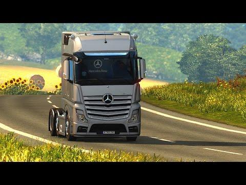 Euro Truck Simulator 2 - Share Mercedes-Benz Actros MP4 Roadstars