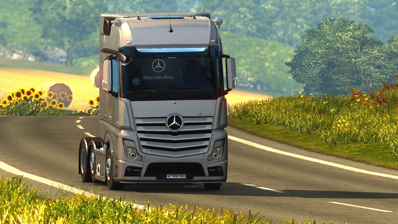 Euro Truck Simulator 2 - Share Mercedes-Benz Actros MP4 Roadstars ...