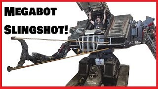When Giant Robots Have Slingshots...