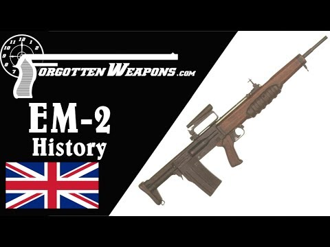 British EM-2: The Best Cold War Battle Rifle that Never Was