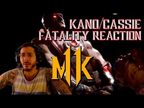 Mortal Kombat 11: KANO/CASSIE Fatalities/Fatal Blows (REACTION!) thumbnail