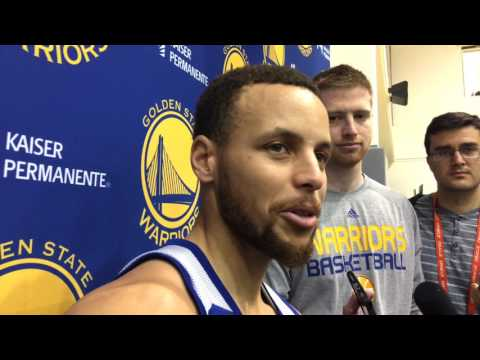 "Curry on Don Nelson saying Stephen was the best passer in the Draft: ""Steve Nash comparison…lofty"""