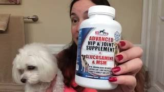 K9 Pro Glucosamine Joint Supplements for Dogs