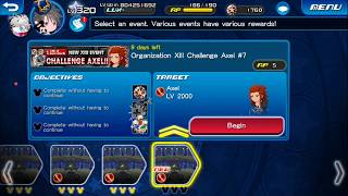 [KHUx Event] New XIII Event Challenge Axel - Organization XIII Challenge Axel 7/13