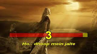 Abhi Mujh Mein Kahin Agneepath 2012 Hindi Karaoke from Hyderabad Karaoke Club