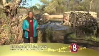 KFMB SanDiego Home For The Holidays 2013 Natasha Mission Trails Regional Park