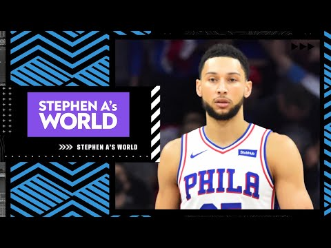 'Ben Simmons would be an incredible asset for the Warriors' - Stephen A. Smith | Stephen A.'s World