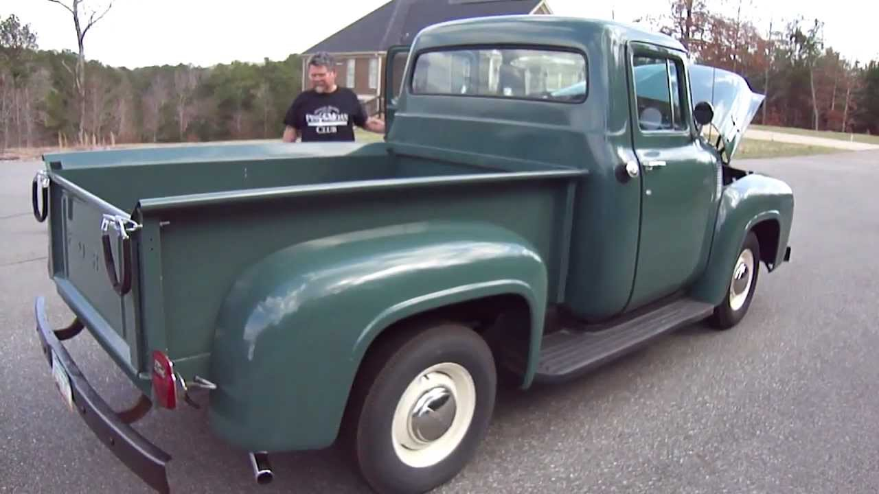 1956 ford f100 for sale in canton ga sold youtube. Black Bedroom Furniture Sets. Home Design Ideas