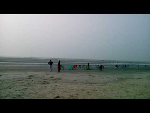Bakkhali Beach, 24 Pargana, West Bengal, Part - 1, 9.30 am, January 1st,2017
