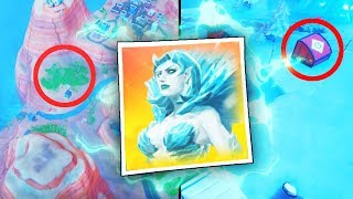 *NEW* SEASON 7 SNOWFALL SKIN REVEALED.. (Fortnite SEASON 7 STORYLINE)