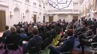 Huzoor's visit to Dutch Parliament