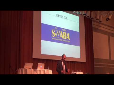 Behavioral indicators of effective ABA program implementation - Robert Ross (SWABA 2017)