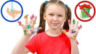 Лиза и история про чистые руки