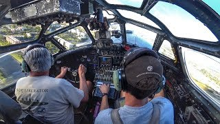 Crawl through a B-24 Bomber IN FLIGHT!