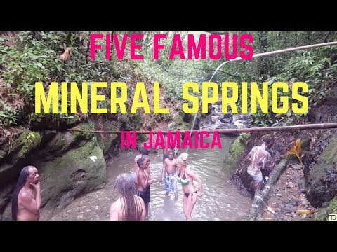 Five MOST POPULAR Mineral SPRINGS in Jamaica |Teach Dem