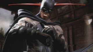 Injustice: Gods Among Us - Batman Blackest Night aka Zombie Batman Costume Gameplay