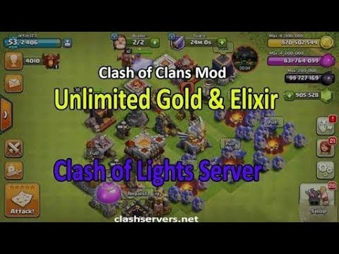 clash of lights server 1 ( clash of lights s1) download apk