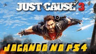 JUST CAUSE 3 -  MISSÃO NAS ALTURAS - PSN PLUS SETEMBRO NO PS4