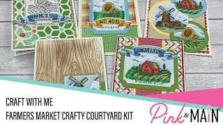 Craft with Me   Farmers Market Crafty Courtyard Kit