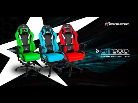 Dragster GT600 Professional Gaming Chair Assembly Guide