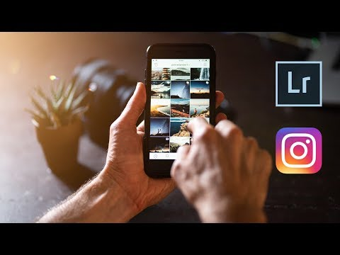 How To Export HIGH Quality Photos For Instagram In 2019
