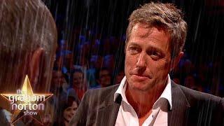 Hugh Grant Re-Enacts Classic Four Weddings Scene - The Graham Norton Show