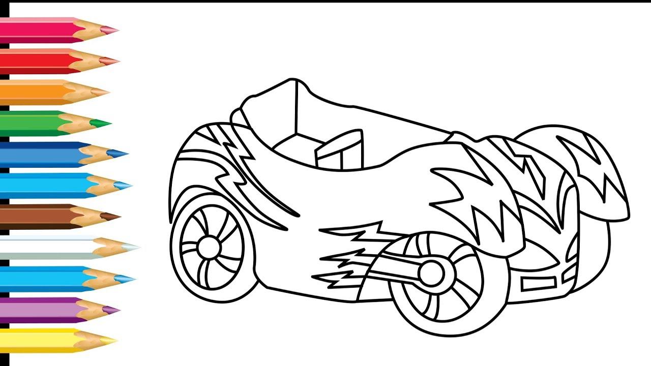 Catboy Vehicle Cat Car Cat Car Pj Masks Drawing And Coloring Pjmask Carcat Pyjamahelden Pyjamasque