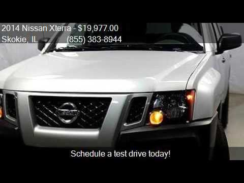 2014 nissan xterra x 4x4 4dr suv for sale in skokie il 6007 youtube. Black Bedroom Furniture Sets. Home Design Ideas